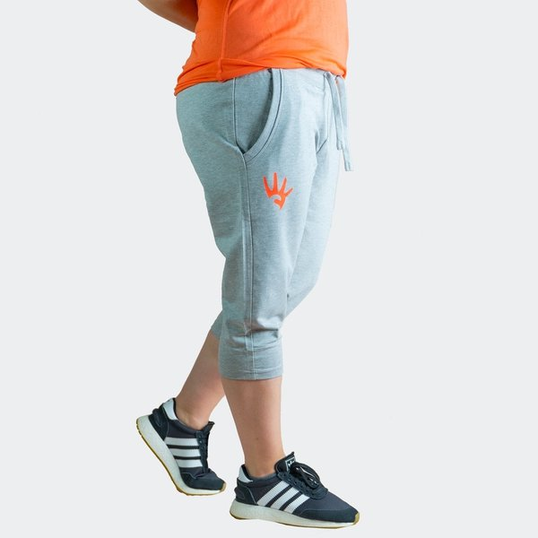 4STREATZ® Ladies 3/4 Jogging Pants GRAU